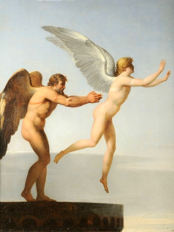 """Daedalus and Icarus,"" Charles-Paul Landon."
