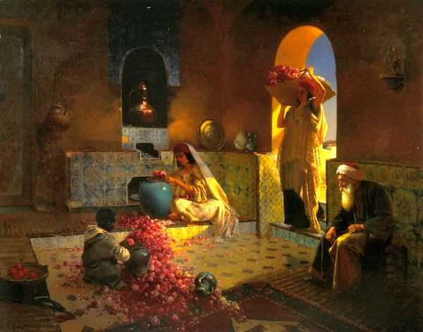 """""""The Perfume Makers,"""" Rudolph Ernst."""