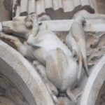 Detail from Notre Dame, one of the things I came to love in Paris, nowhere near Boulevard Haussmann.