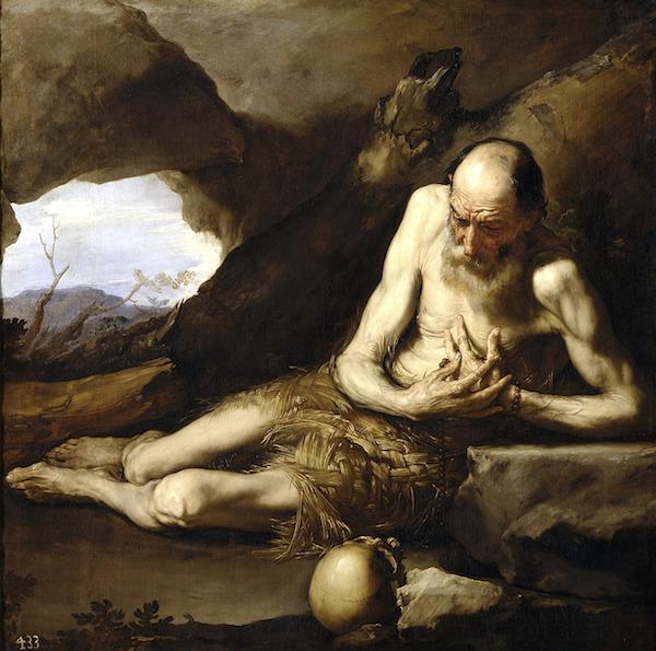 """Saint Paul the Hermit,"" by Jusepe de Ribera (1640), Museo del Prado, Madrid."