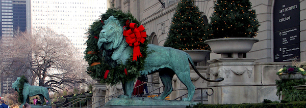 Wreathed Lion, Art Institute of Chicago.