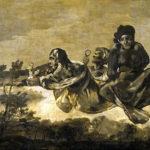 """""""Atropos/The Fates,"""" by Francisco de Goya, (1819-23), Museo del Prado."""