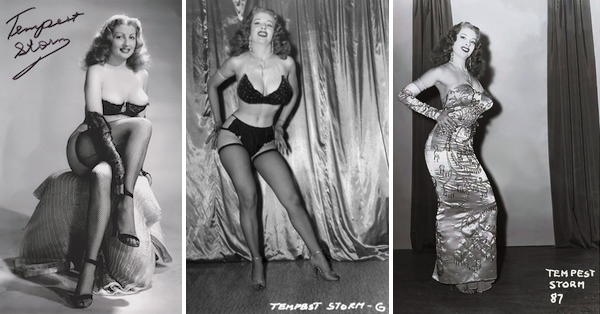 The inimitable Tempest Storm.