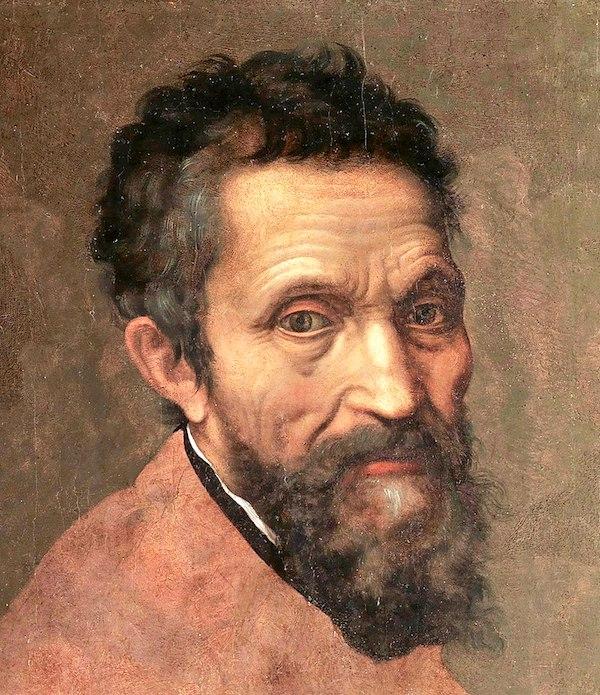 """""""Michelangelo,"""" by Daniele da Volterrra."""