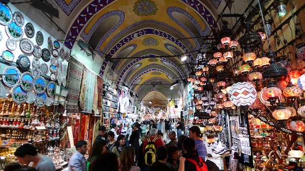Istanbul's Grand Bazaar.