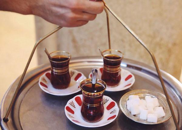 Turkish tea.