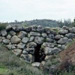 The Arkadiko Bridge in Mycenae, the oldest surviving bridge that can still be used (between 1300 and 1200 BC).