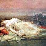 """""""Tristan and Isolde (Death),"""" by Rogelio de Egusquiza y Barrena (1845 –1915)."""