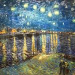 """Starry Night on the Rhone,"" by Vincent van Gogh, 1888 (Musée d'Orsay)."