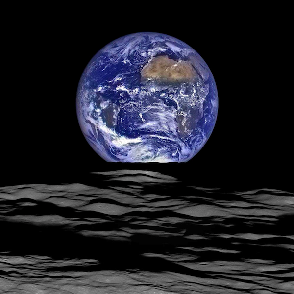 On this small blue planet, we are one. (Photo: Popular Mechanics.)