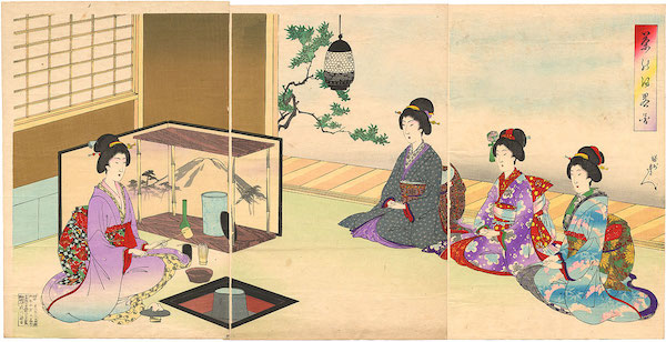 Tea Ceremony, 1895.