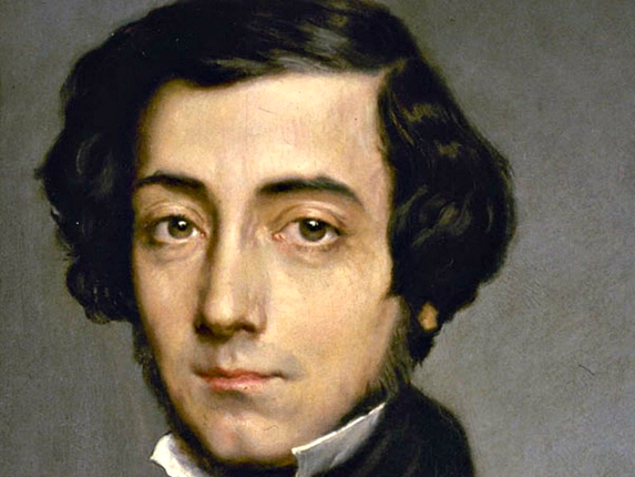 "Alexis de Tocqueville: ""If America ceases to be good, America will cease to be great."""
