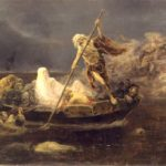 """""""The Boat of Charon,"""" by Jose Benlliure y Gil, 1919."""""""
