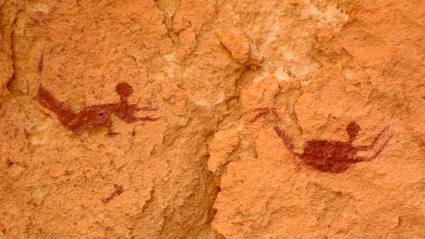 """The Cave of The Swimmers, Gilf Kebir Plateau, Libya."""