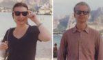 Deborah and Ross, in Monaco, before selfies.