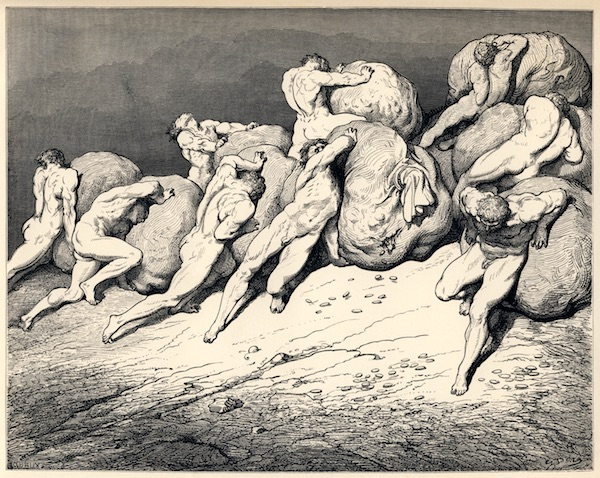 L'Inferno, The Fourth Circle of Hell, by Gustave Doré.
