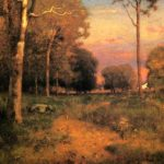 """George Inness, """"Early Moon Rise, Florida,"""" 1893."""
