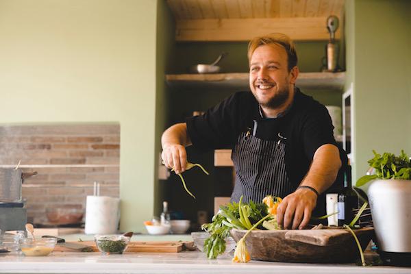 Melios Hatzis demonstrates the joy of cooking.