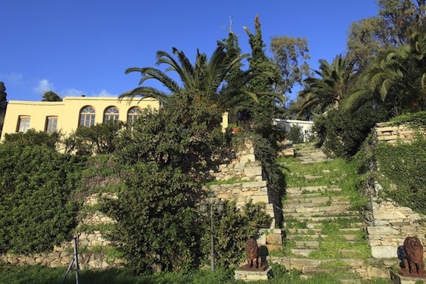 The main house, part Venetian, part Ottoman.
