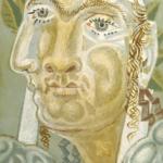 Silkscreen Print by Nikiforos Hadjikyriakos-Ghika, 1938.