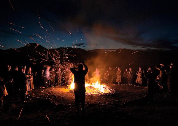 Tribal dance in Govi-Altai Province, Mongolia, 2012. (Photo: Karthik Anand/Flickr.)