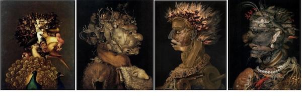 """The Four Elements,"" by Giuseppe Arcimboldo, 1566."