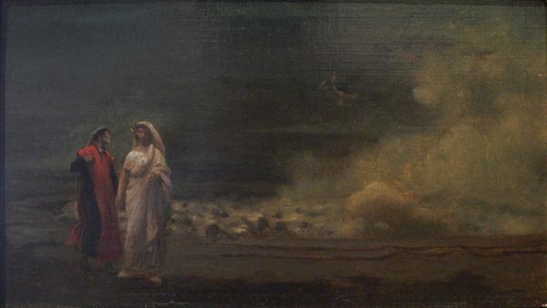 """Dante et Virgile in Hell,"" by Jean-Léon Gérôme."
