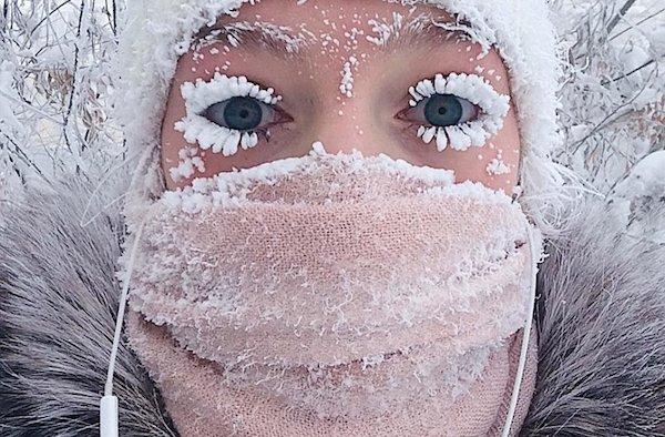 The face of Siberia. (Photo: Instagram/@anastasiagav)