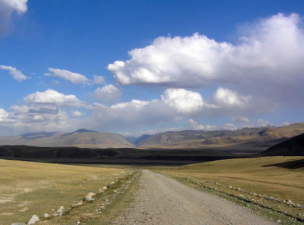 The Central Asian plateau, once trodden by Genghis Khan.