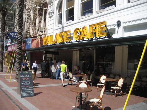 The Palace Café.