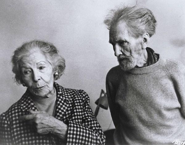 Ezra Pound and Olga Rudge.