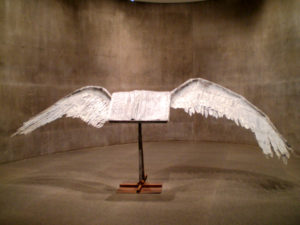 """Book with Wings,"" by Anselm Kiefer (1992-94)"